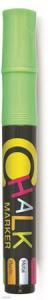 Krétamarker, 2,5 mm, FLEXOFFICE Chalkmarker, zöld